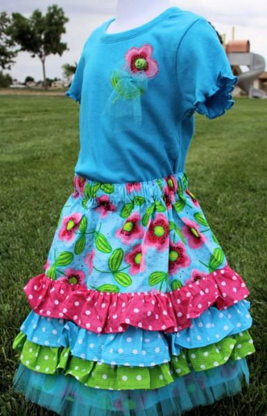 Подборка ярких юбок для девочек