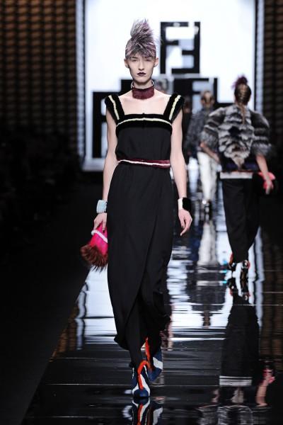 Осенне-зимняя коллекция Fendi 2014 для женщин