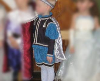 Новогодний костюм принца (описание пошива) Часть 1