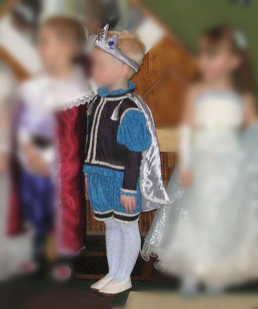 Новогодний костюм принца (описание пошива) Часть 3: Шьем плащ-накидку
