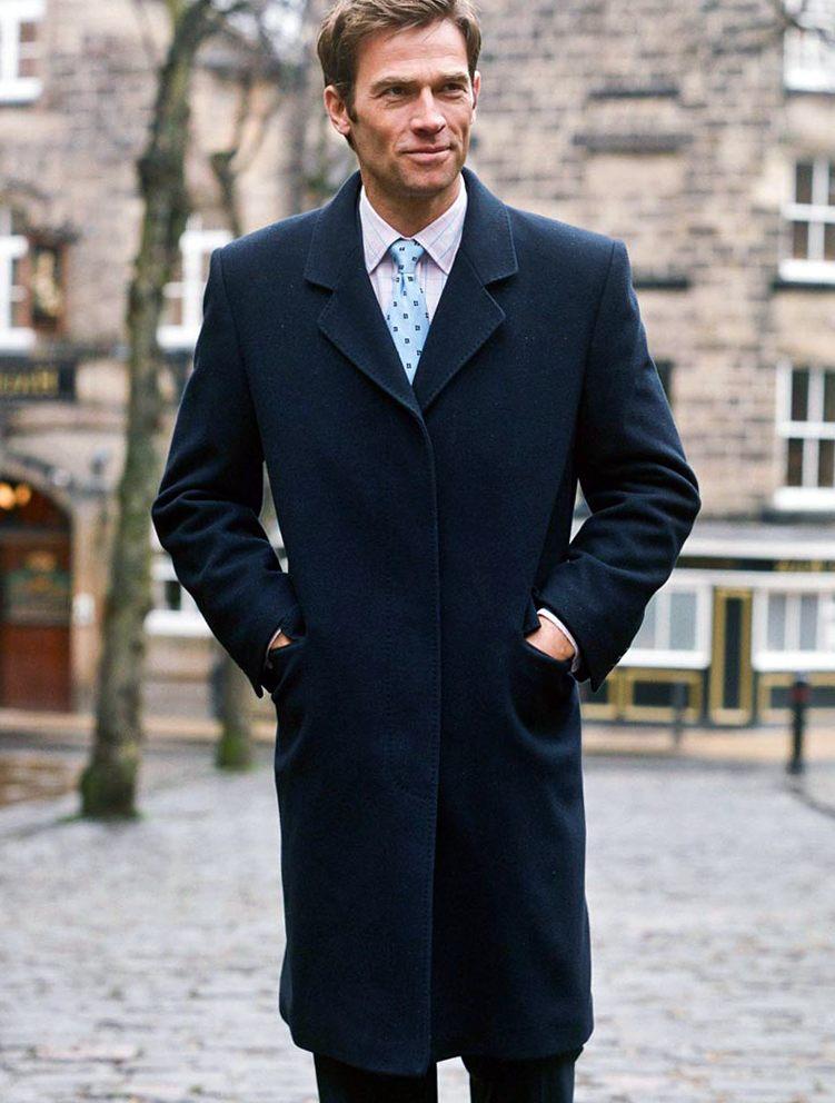 Деловой стиль – мужское пальто Осень/Зима 2013/2014