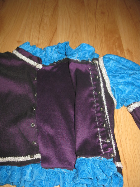 Новогодний костюм принца (описание пошива) Часть 2: Шьем куртку
