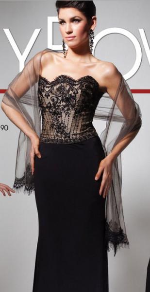 Вечерние платья 2013 от дизайнера Tony Bowls