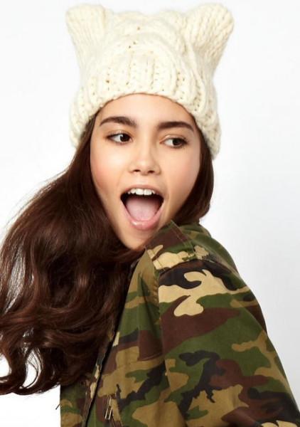 Вязаные шапочки известных брендов