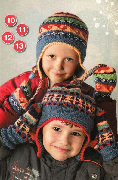 Яркие шапочки для мальчиков и девочек