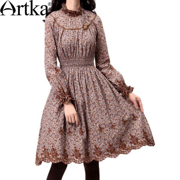 Цветочные платья от Artka