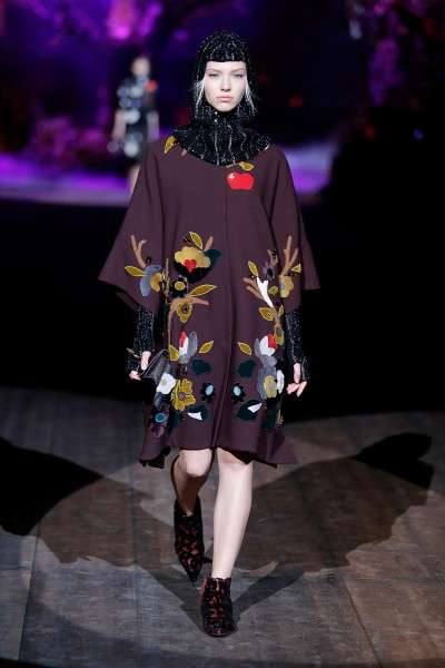 Dolce & Gabbana зима 2015 для женщин