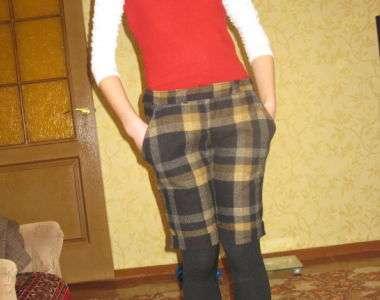 Шьем весенние шорты для девочки- подростка