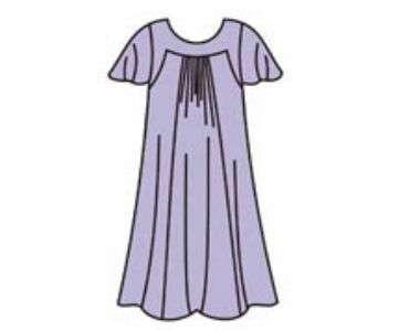 Выкройка летнего платья для полных скачать