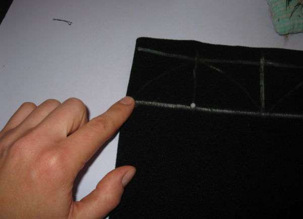 Как сшить подкладку для готовой шапки
