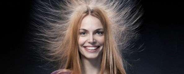 Как избежать эликтризации волос