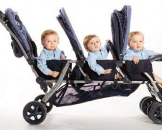 Коляска для троих детей подбор