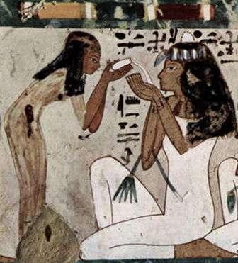 Создание первых парфюмов