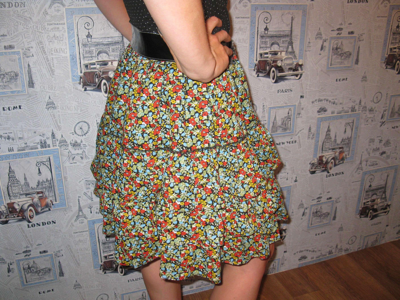 Простая пышная юбка для жаркого лета от sigolki.com – Анонс