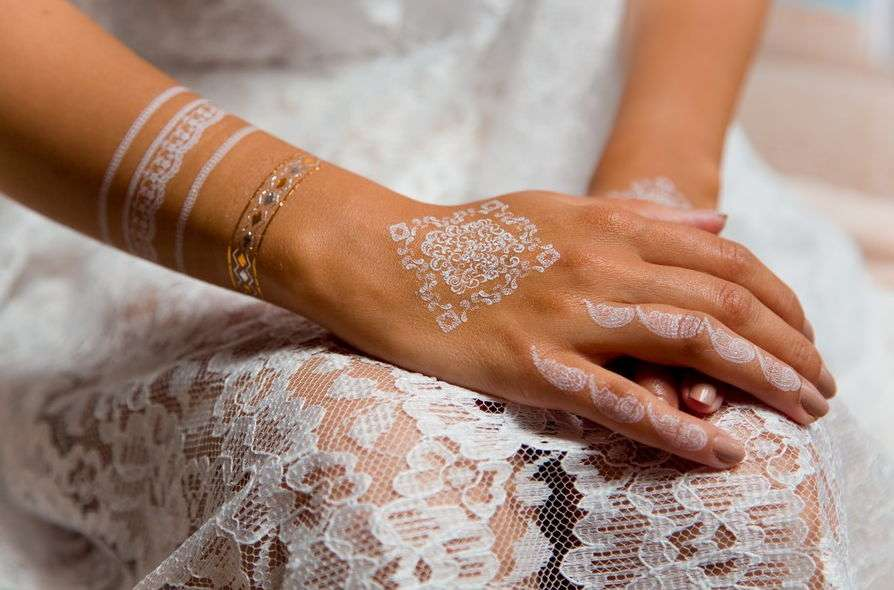 Свадебный боди-арт это бесконечная красота!
