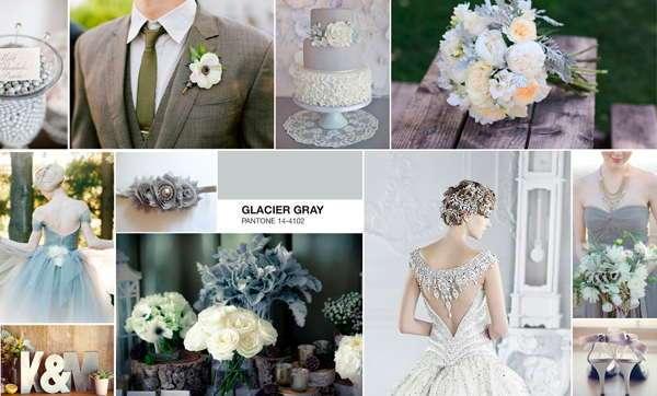 Ледяной серый для свадьбы