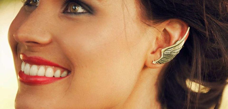 Каффы – модные украшения для ушей