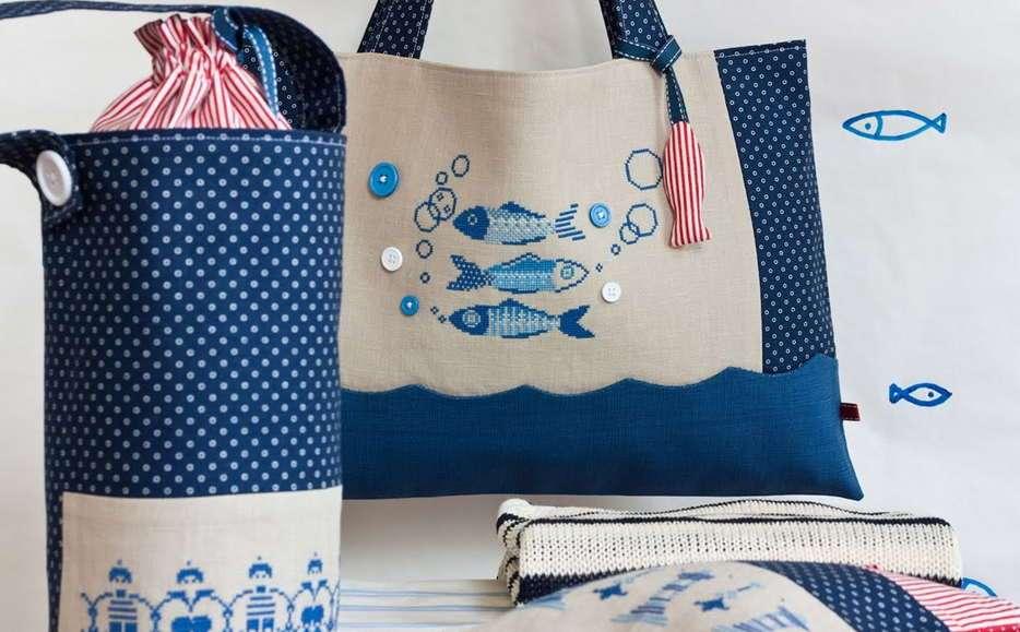 Модная сумка-коврик для пляжа: как ее сделать своими руками?