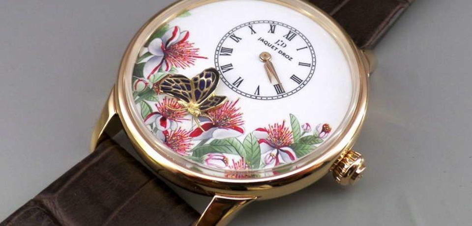 The Butterfly Journey новые часы от Jaquet Droz