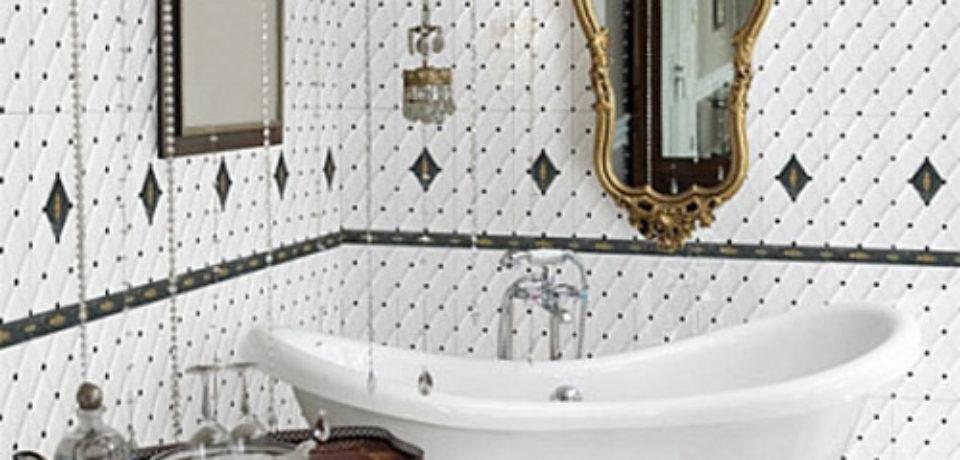 Элитные коллекции кафеля для ванной – ТОП-6 роскошных дизайнерских предложений лета 2015