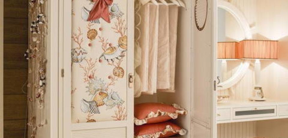 Забудьте о беспорядке в детской, усовершенствовав шкафы для одежды