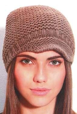 Вязаные шапки женские и описание