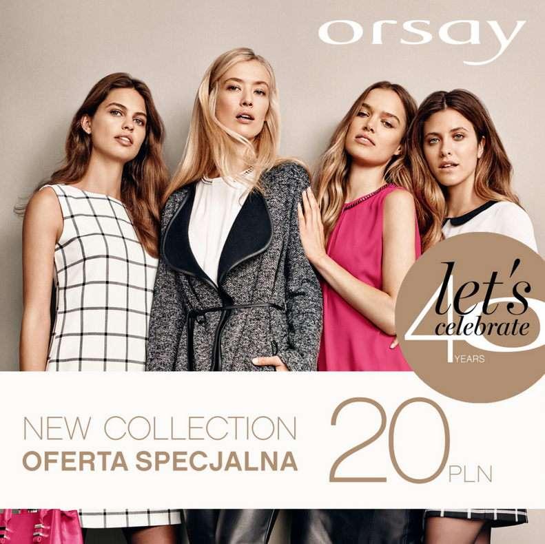 Orsay отпраздновала своё 40-летие и приготовила любимые модные элементы по бесконкурентным ценам