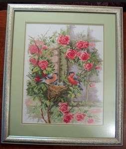 Розы крестиком