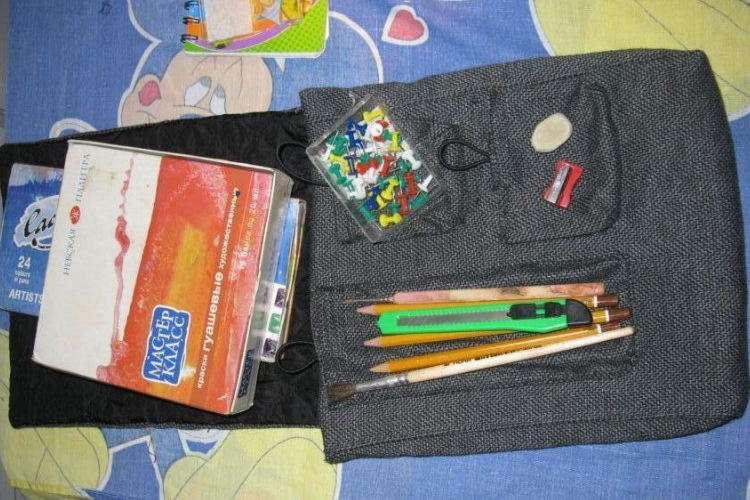 Удобная сумка для мальчика – шьем сами дома