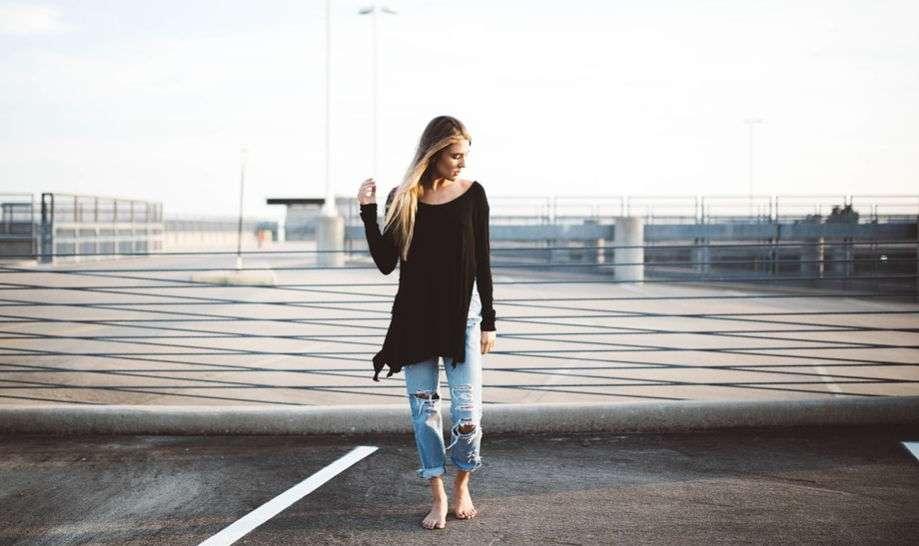 Укороченные джинсы 2016 года