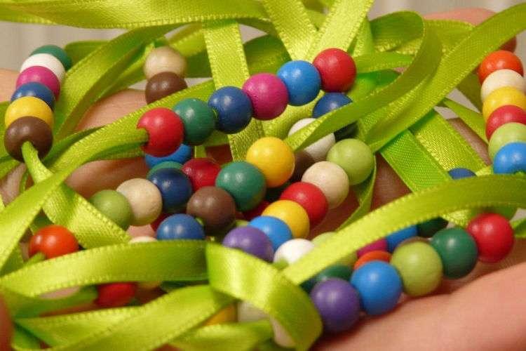 Как сделать браслеты из бусин