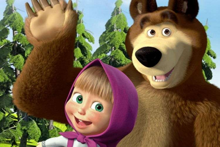 Маша и Медведь смотреть онлайн новую серию. Квартет плюс