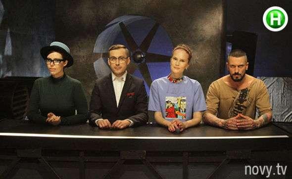 Супер модель по-украински 3 - эксперты шоу. Фото Новый канал