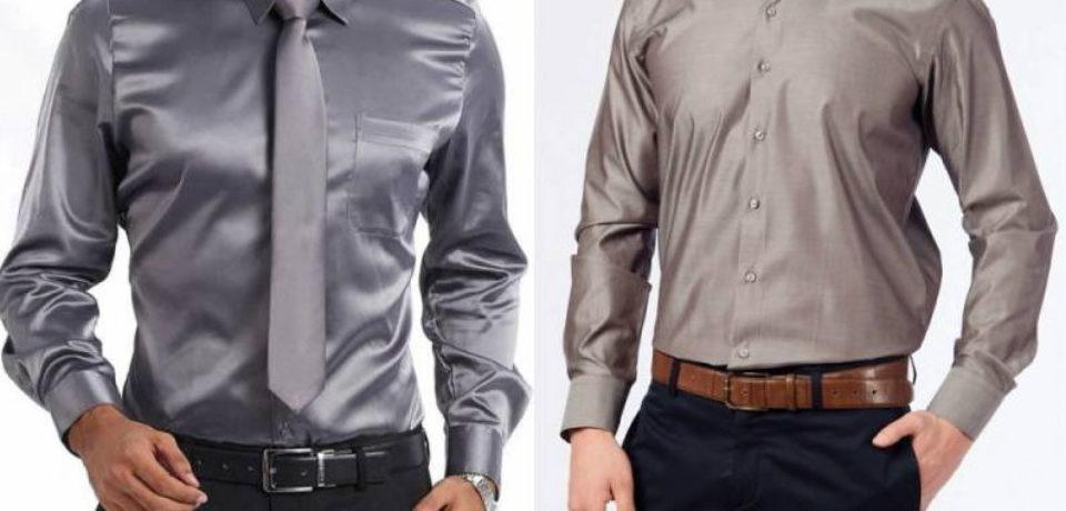 Рубашки шёлковые мужские – роскошь для себя