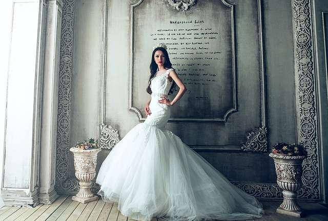 Винтажное модное свадебное платье