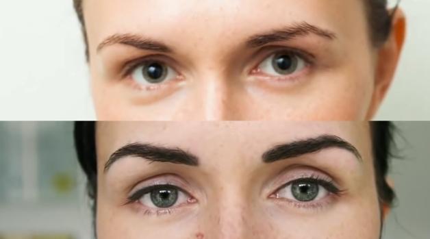 Перманентный макияж бровей: что это, сколько держится?