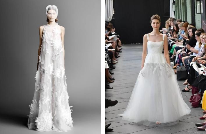 лучшие свадебные платья зимы 2019