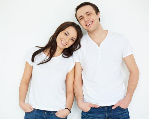 Выбираем женскую майку и футболку для парня